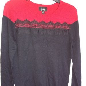 Red amd BLack Sweater